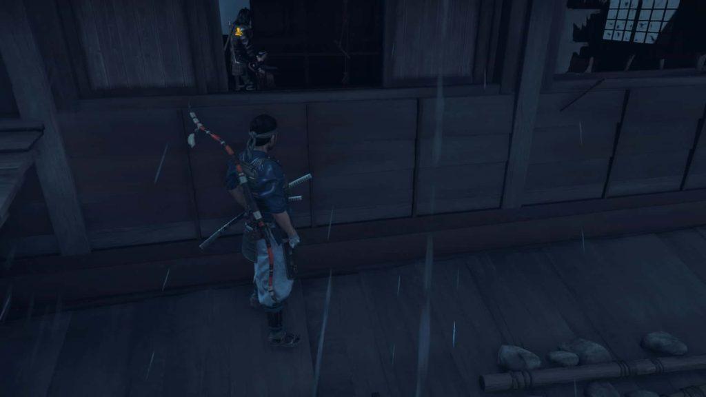 2階から侵入
